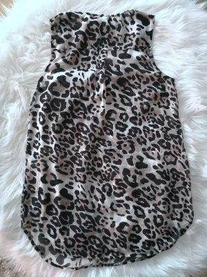 Top/Bluse mit leopard Print
