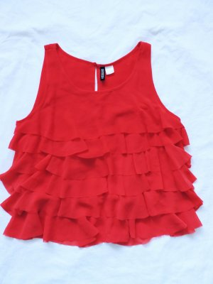 H&M Divided Blusa rosso