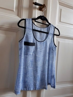 Top Bluse Muster Geometrie