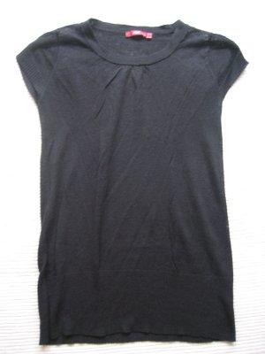 top, bluse schwarz tunika gr. xs 34 mexx