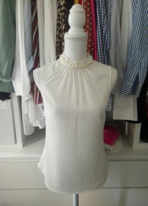 H&M Sleeveless Blouse multicolored