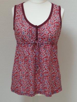 Top Bluse von Esprit EDC + Blumenprint + Gr. L