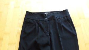 Cambio Pantalon à pinces noir tissu mixte
