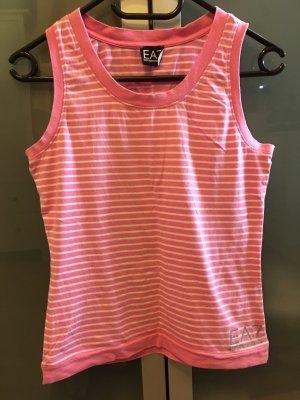 Armani Exchange Basic Top pink-white