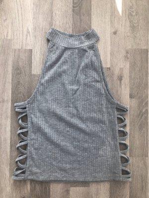 Pimkie Cropped Top light grey