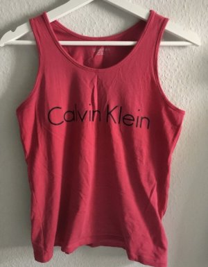 Calvin Klein Tanktop magenta-roze