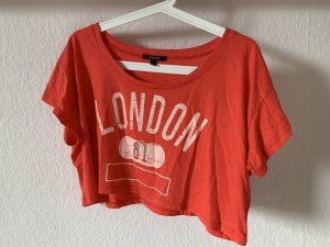Cropped Top salmon