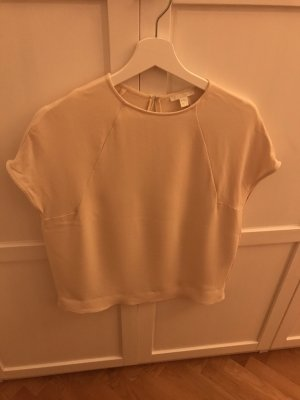 COS Short Sleeved Blouse cream