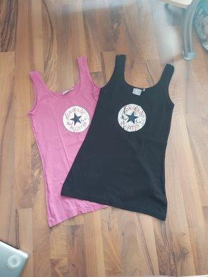 Converse Basic topje zwart-roze