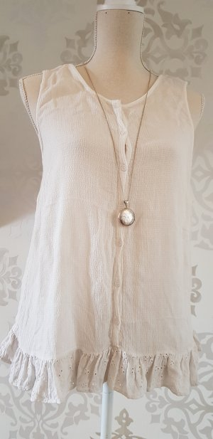 Frill Top natural white
