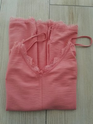 H&M L.O.G.G. Lace Top pink