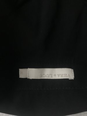 Top crop croptop schwarz M neu Bluse Hemd mit Kragen