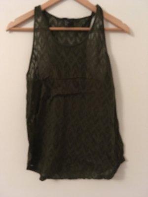 H&M Basic Top khaki