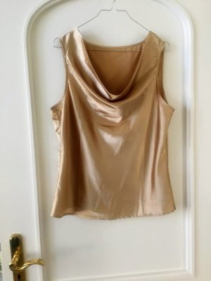 Watervaltop goud Polyester