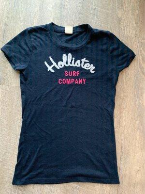 Hollister Basic Top dark blue