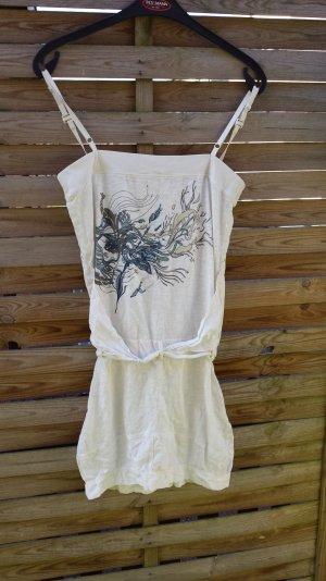 TOP Diesel Kleid Minikleid Sommerkleid Trägerkleid  Muster gr  S