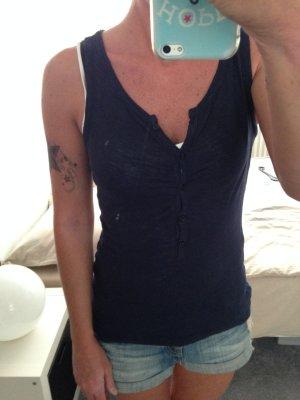 Top dunkelblau Vero Moda Gr. XS