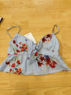 Pull & Bear Bustier Top multicolored