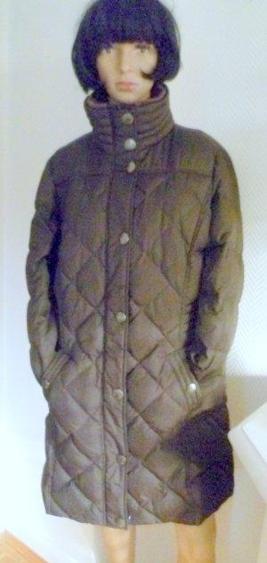 Esprit Manteau en duvet brun foncé