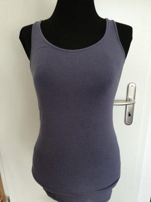 Esprit Top long gris violet-gris ardoise