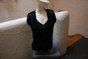 Heine Knitted Top black cotton