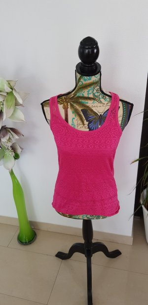 Amisu Strappy Top pink