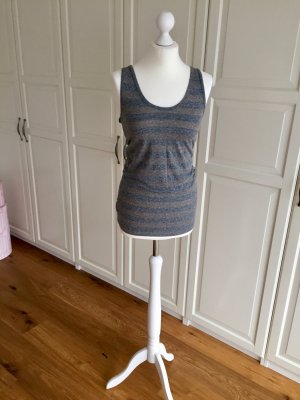 Top grau braun gestreift Maison Scotch 2