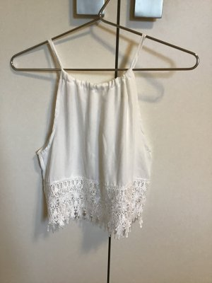Strappy Top white polyester