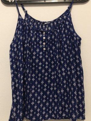 H&M Camisa de mujer azul oscuro