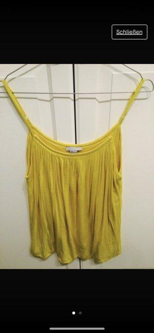 H&M Top de tirantes amarillo