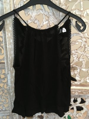H&M Basic Top black