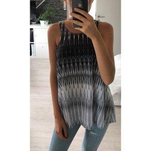 H&M Blusa nero-bianco