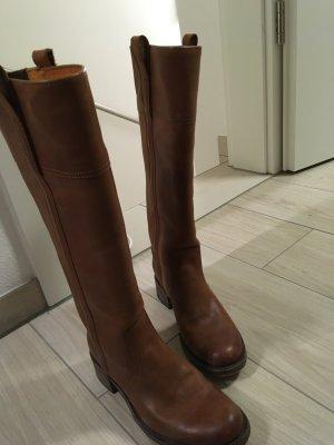 TOP hochwertige Leder Stiefel für den Herbst/Winter