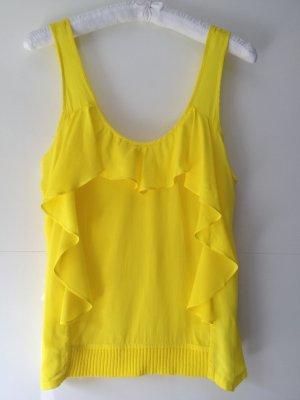 Top in gelb von Zara