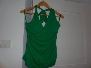 Top in grün mit Träger