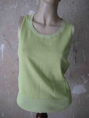 Knitted Top pale green