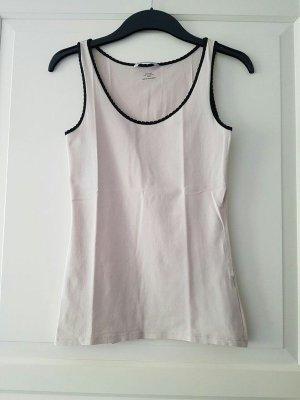 H&M Camiseta sin mangas nude-negro