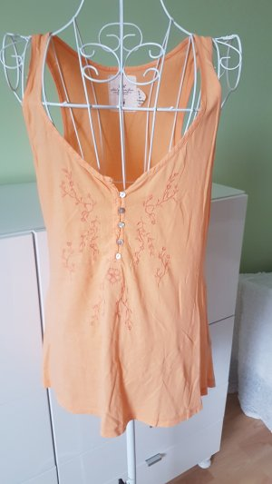 H&M Long Top orange-light orange