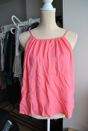 Top in Pink mit geschnürtem Rückenteil
