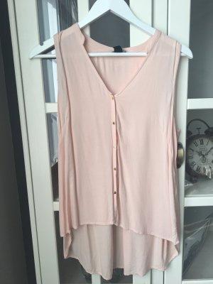 Top in rosa mit goldenen Knöpfen •H&M•