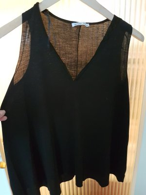 Top in schwarz von Zara ♡