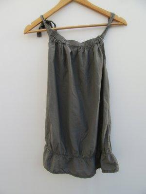 Angela Davis Blouse Top khaki