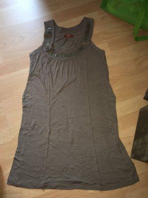 Top/Kleid Buffalo grau in Größe L