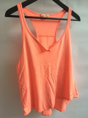 Top lachsfarben/neon orange Hollister