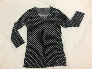 Lauren by Ralph Lauren V-Neck Shirt natural white-black