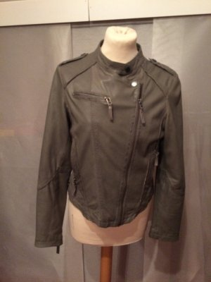 Top Leder Biker Jacke in S