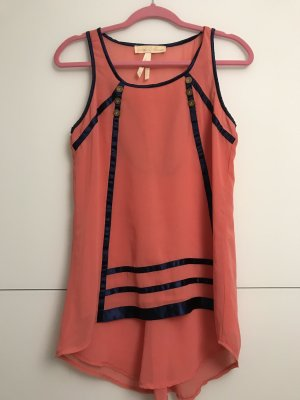 Little Mistress Long Top bright red
