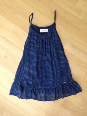 Abercrombie & Fitch Sleeveless Blouse dark blue