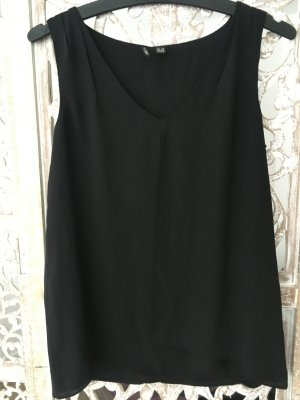 Mango Blouse Top black