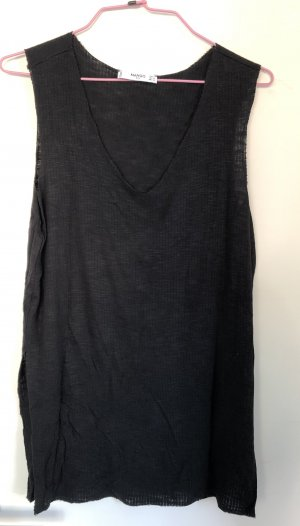 Mango Long Top black